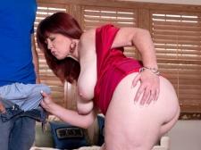 Heather's Ass Meets Rigid Cock