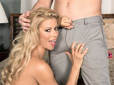 Alexis Fawx and the luckiest woman chaser in the universe