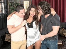 Layla copulates her son's friends