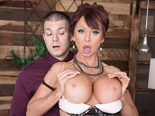 Gina gives recent meaning to, Copulate The Boss!
