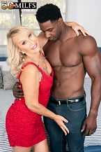 Sandy Pierce bonks a larger than standard, darksome cock